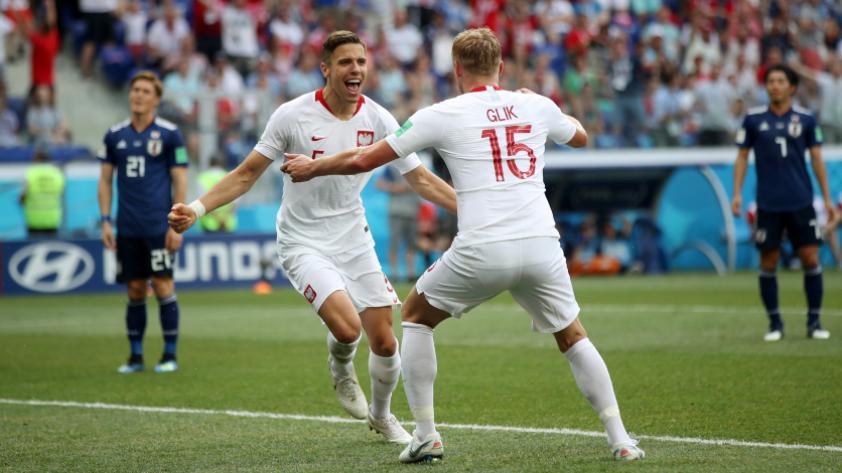 Japón cayó 1-0 ante Polonia pero consigue su clasificación a octavos de final de Rusia 2018