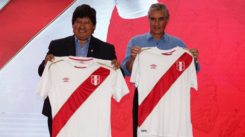 Selección Peruana ya tiene camiseta para Rusia 2018