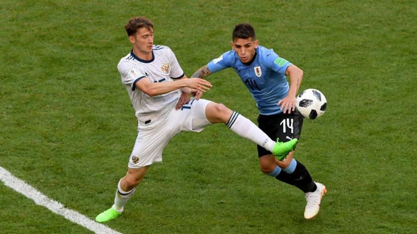 Lucas Torreira, el joven uruguayo que fue fichado por el Arsenal