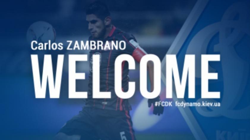 OFICIAL: Carlos Zambrano es nuevo jugador del Dynamo de Kyiv
