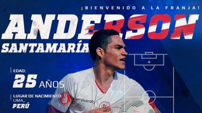Anderson Santamaría firma con Puebla de México