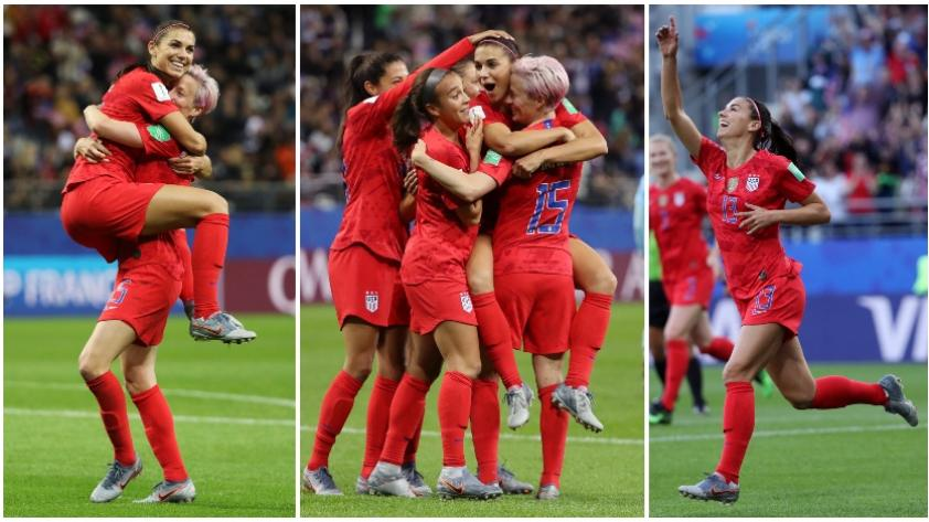¡Descomunal! Con 5 goles de Alex Morgan, EEUU goleó 13-0 a Tailandia por el Mundial Femenino Francia 2019 (VIDEO)