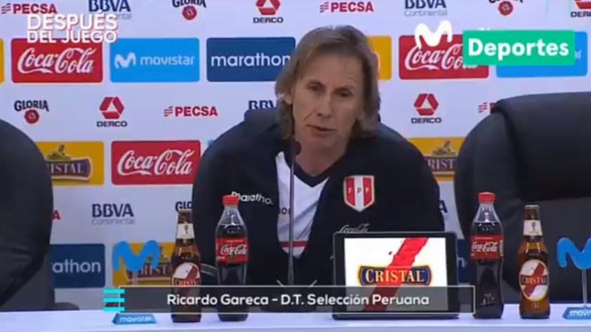"""Ricardo Gareca: """"El fútbol siempre fue y será efectividad"""""""