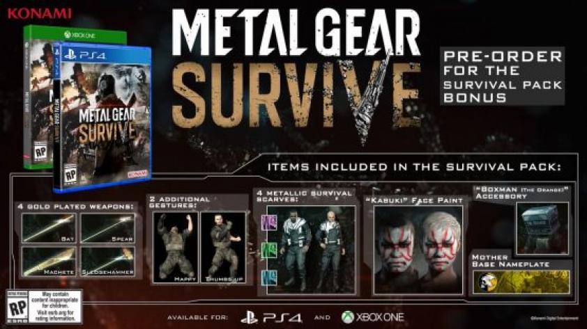Metal Gear Survive ya tiene fecha de lanzamiento