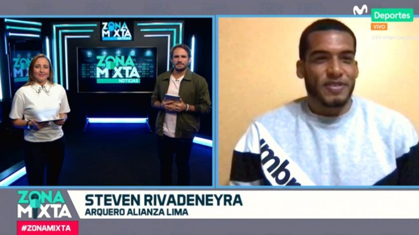 """Steven Rivadeneyra en Zona Mixta: """"Estamos entendiendo la idea de Mario Salas"""" (VIDEO)"""