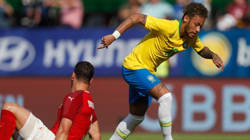 Brasil se impuso por 3-0 ante Austria por amistoso internacional FIFA