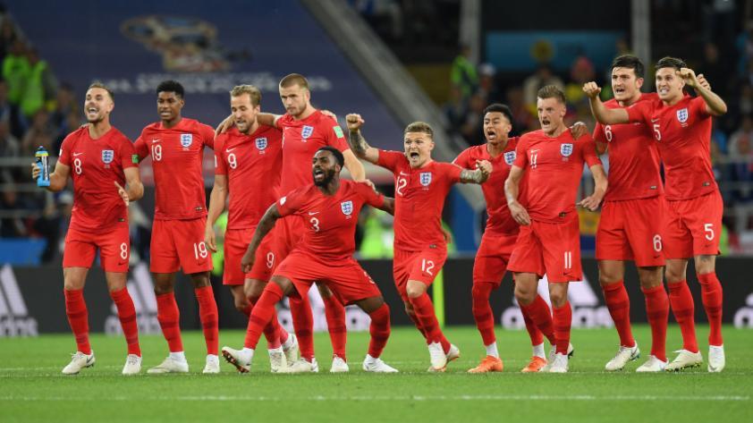 Inglaterra le ganó 4-3 a Colombia por penales y pasa a cuartos de final de Rusia 2018