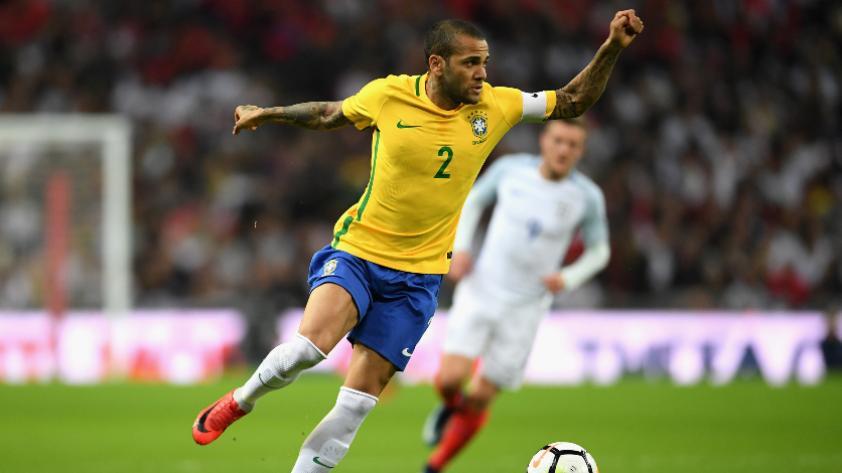 Selección de Brasil: Dani Alves se queda sin Mundial Rusia 2018