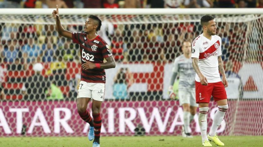 Nada está dicho: Paolo Guerrero y el Internacional de Porto Alegre cayeron derrotados 2 a 0 ante el Flamengo por los 4° de final ida de la Copa Libertadores 2019