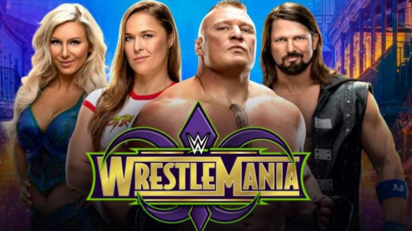 Wrestlemania 34: la cartelera,  horario y canal de transmisión del evento de lucha libre