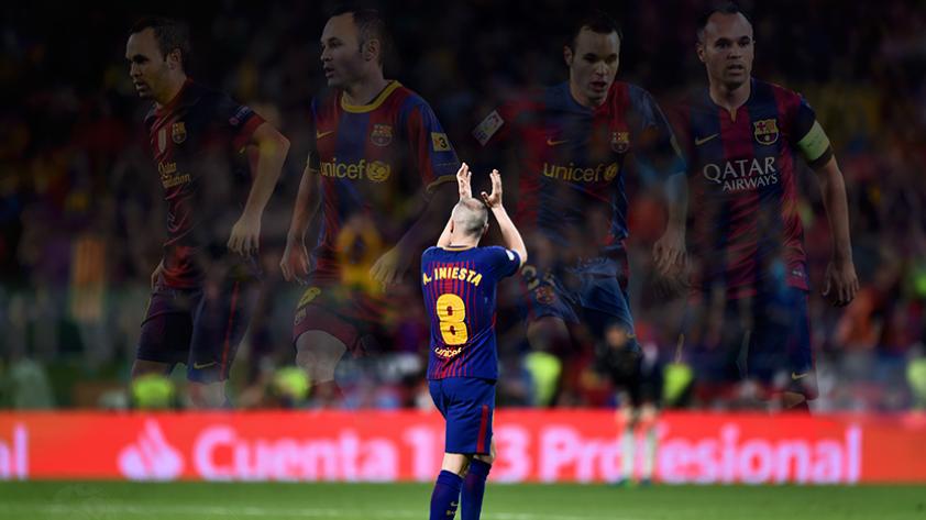 Andrés Iniesta recibió disculpas de France Football por no haber recibido el Balón de Oro