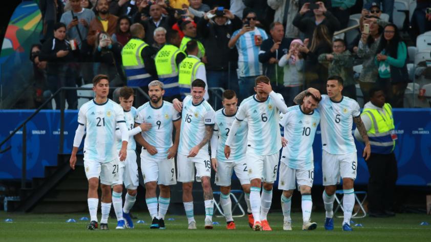 ¡Se quedan con el bronce! Argentina derrotó 2-1 a Chile y consiguió el tercer puesto de la Copa América