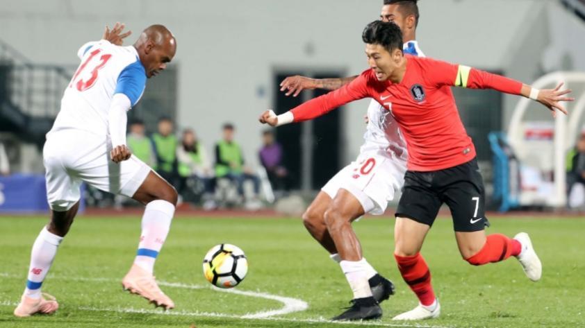 Panamá cortó racha de 6 partidos perdidos y empató 2 a 2 contra Corea del Sur