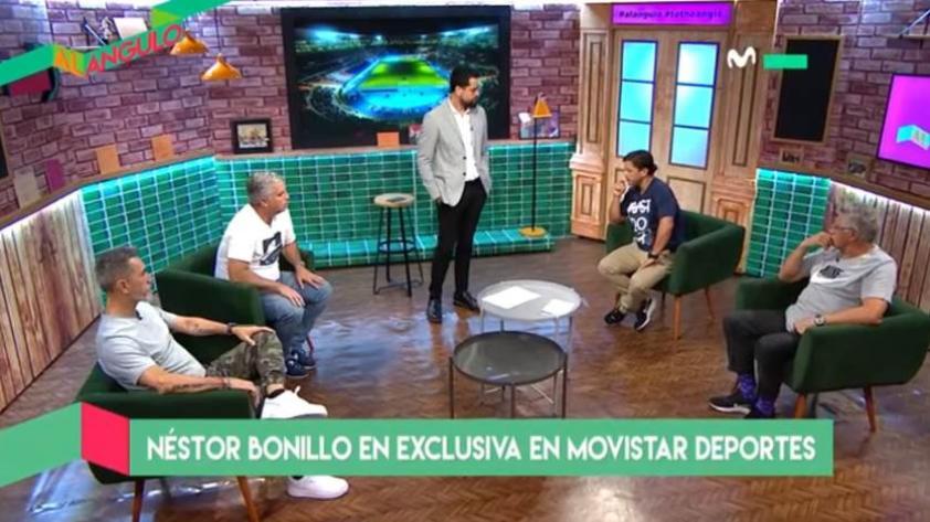 Al Ángulo: Néstor Bonillo habló en exclusiva para Movistar Deportes