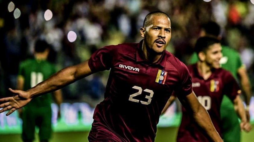 Con doblete de Rondón: Venezuela goleó por 4-1 a Bolivia en partido amistoso internacional