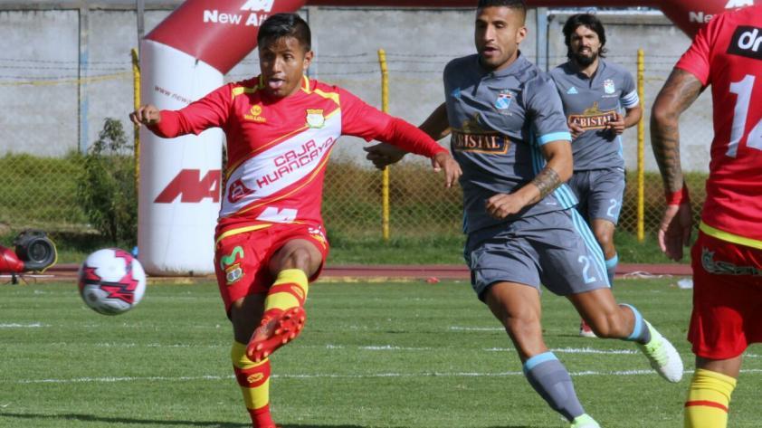 Sporting Cristal empató 1-1  con Sport Huancayo en la primera final del Torneo de Verano