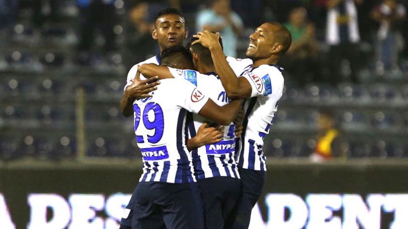 Alianza Lima goleó 4-0 a Ayacucho en Matute