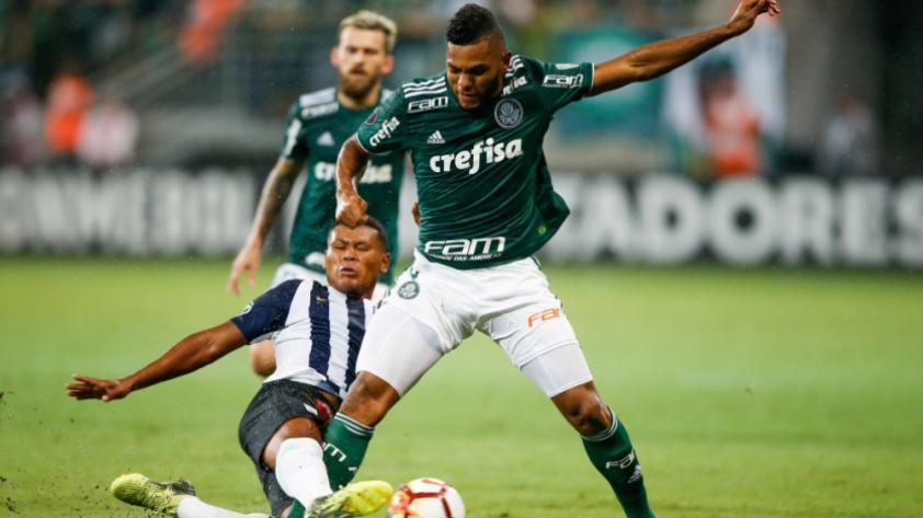 Alianza Lima perdió 2-0 ante Palmeiras por la segunda fecha de la Copa Libertadores