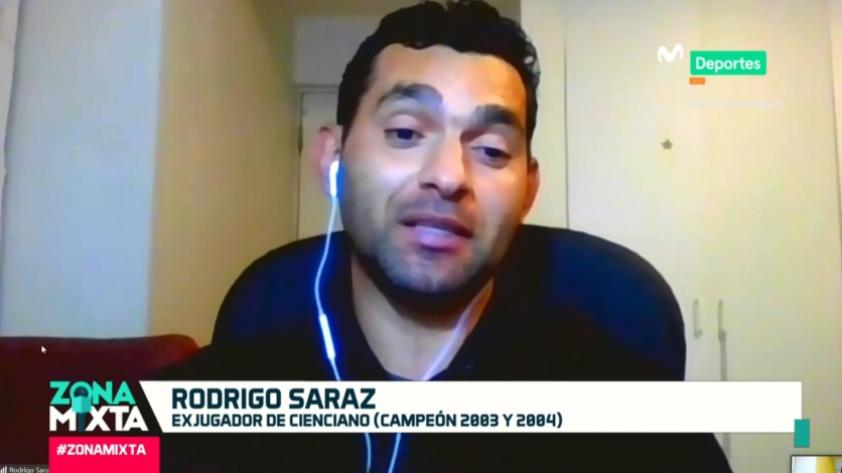 Rodrigo Saraz en Zona Mixta: