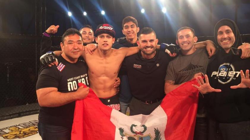 Luchador peruano debutará en la UFC