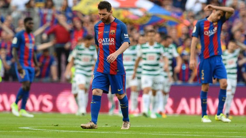 (EN VIVO) Barcelona vencio 4-2 a Eibar pero no le alcanzó