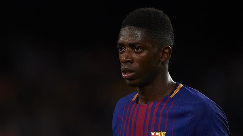 Ousmane Dembélé se lesiona y será baja hasta el 2018