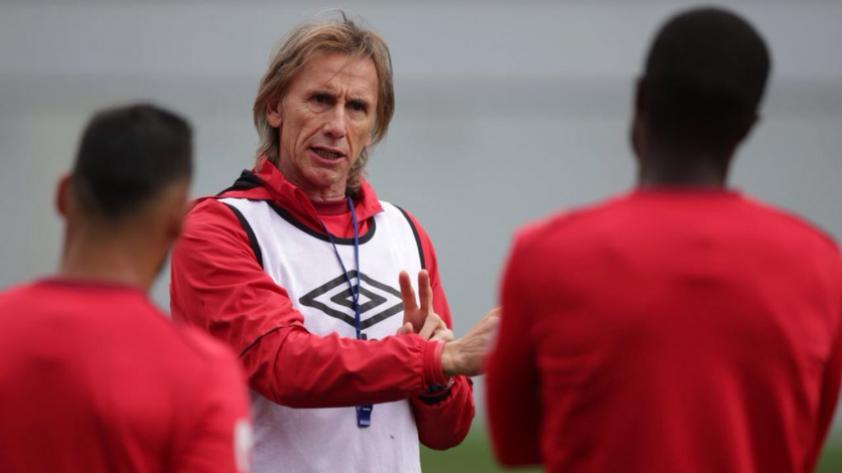 El cuarto entrenamiento de la Selección Peruana en Moscú