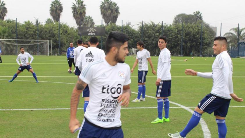 Paraguay quedó listo para enfrentar a Perú
