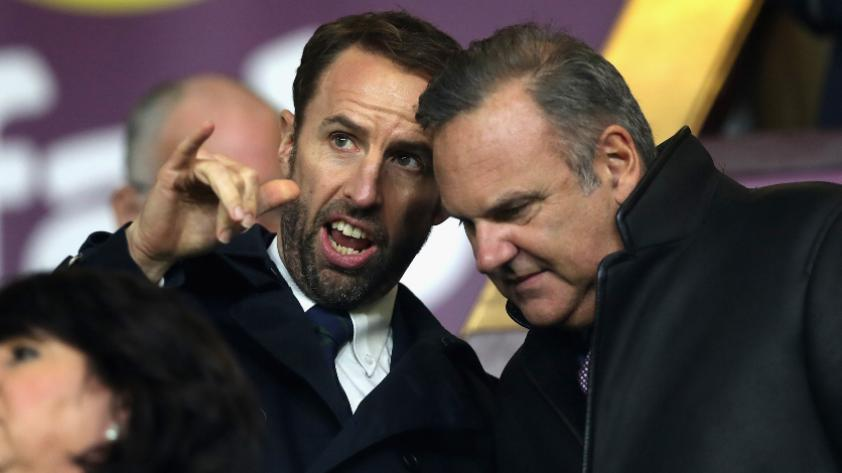 Inglaterra:  Gareth Southgate anunciará lista preliminar el 16 de mayo