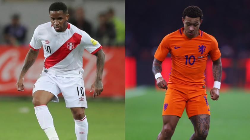Perú se enfrentará a Holanda por amistoso en setiembre