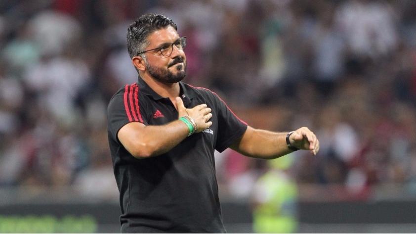 Gennaro Gattuso asume el cargo de DT en el A.C. Milan