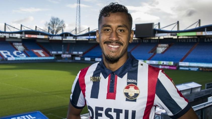 Renato Tapia fue presentado como nuevo jugador del Willem II de la primera división holandesa