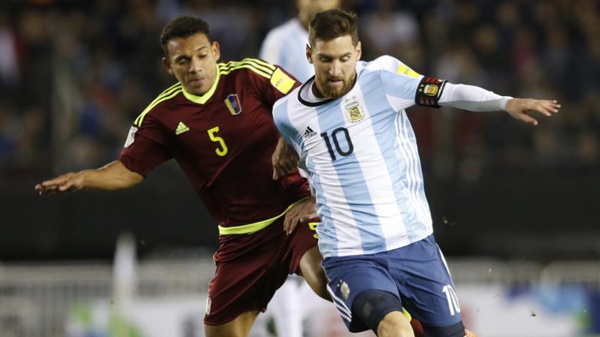 Argentina empató 1-1 con Venezuela y complicó sus chances en las Clasificatorias Rusia 2018
