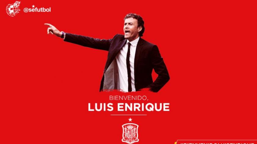 Luis Enrique será el nuevo entrenador de la selección española [OFICIAL]