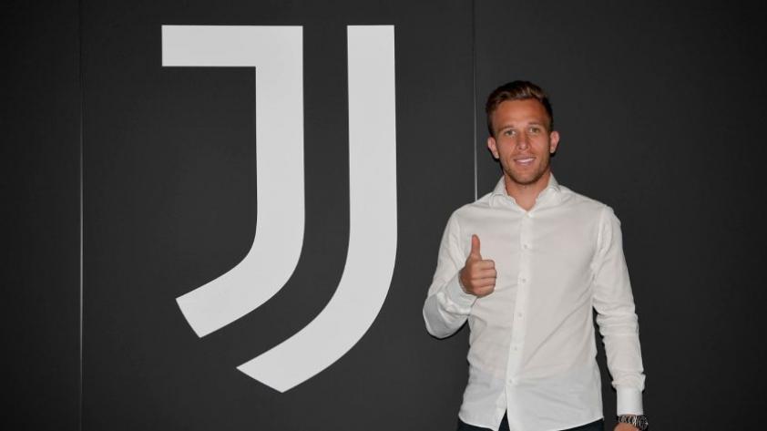 Es oficial: Arthur es nuevo refuerzo de la Juventus