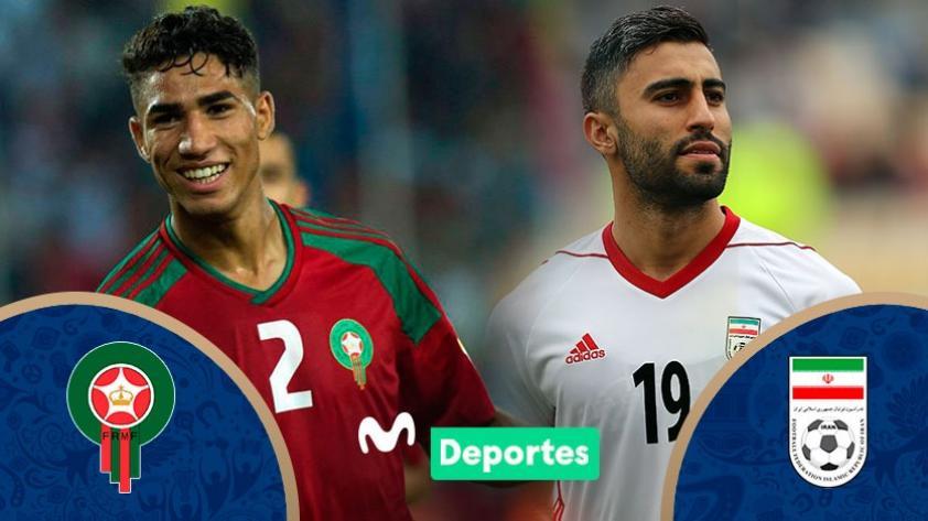 Marruecos vs. Irán: fecha, hora y canal del partido de Rusia 2018