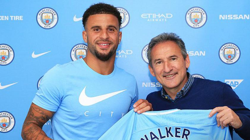 Kyle Walker al Manchester City: el defensa más caro