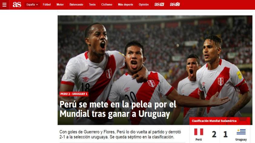 ¿Cómo reaccionaron los medios internacionales tras el triunfo de Perú?