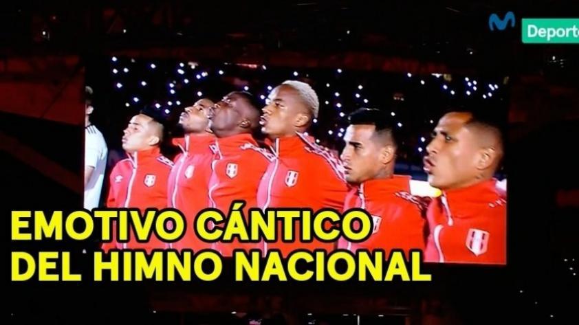 (VIDEO) Perú ante Croacia: así fue la emotiva entonación del Himno Nacional en el Hard Rock Stadium