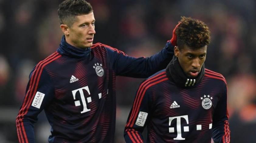 ¡No todo es felicidad! Jugadores del Bayern Múnich se fueron a los golpes en el entrenamiento