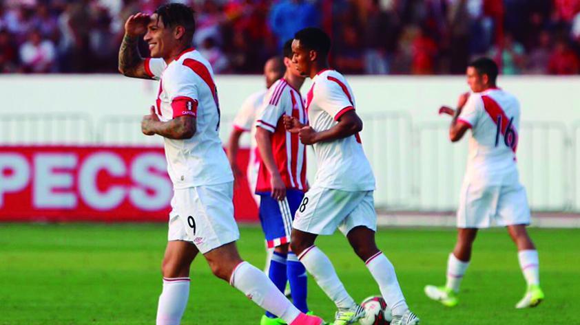 Guerrero y Rodríguez, los puntos altos en el triunfo de Perú