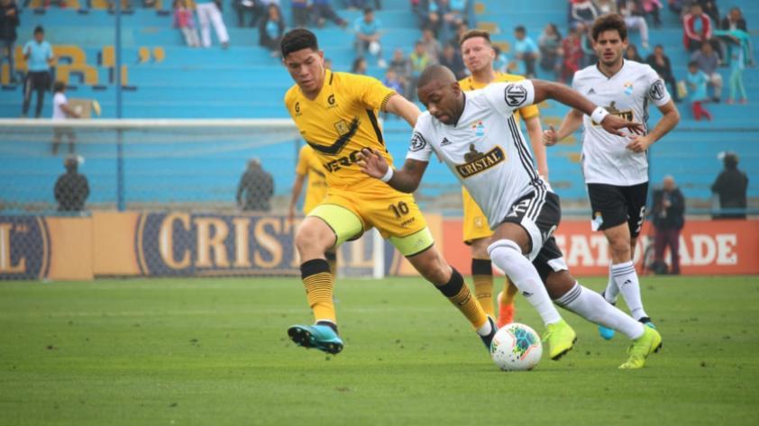 ¡A minutos que acabe! Cantolao empató 1-1 con Sporting Cristal por la sexta jornada del Torneo Clausura