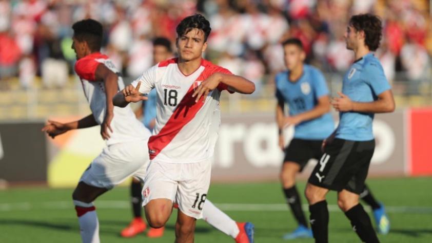 Lo tienen en la mira: Óscar Pinto, seleccionado peruano Sub 17, podría llegar a Universitario