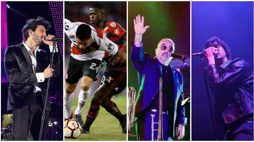 Tres conciertos y una final: la cargada agenda del sábado 23 de noviembre en Lima