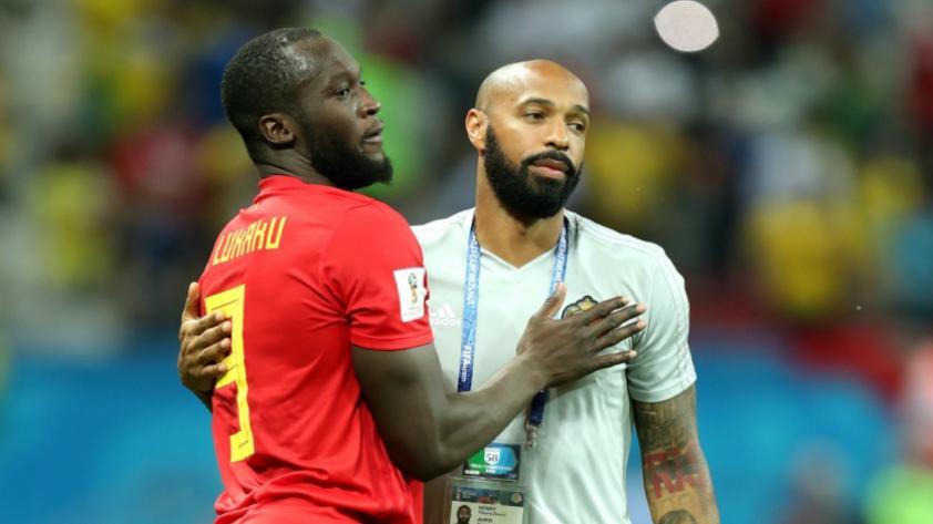 Romelu Lukaku reveló los secretos que ha recibido del gran Thierry Henry