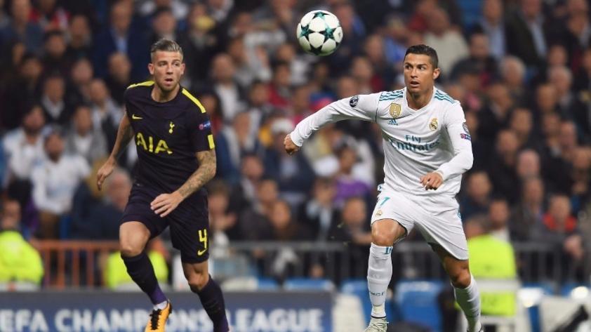 Real Madrid vs. Tottenham: igualaron 1-1 por la fase de grupos de la Champions League