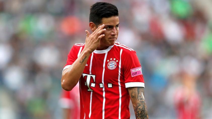 James Rodríguez, gran baja en el Bayern
