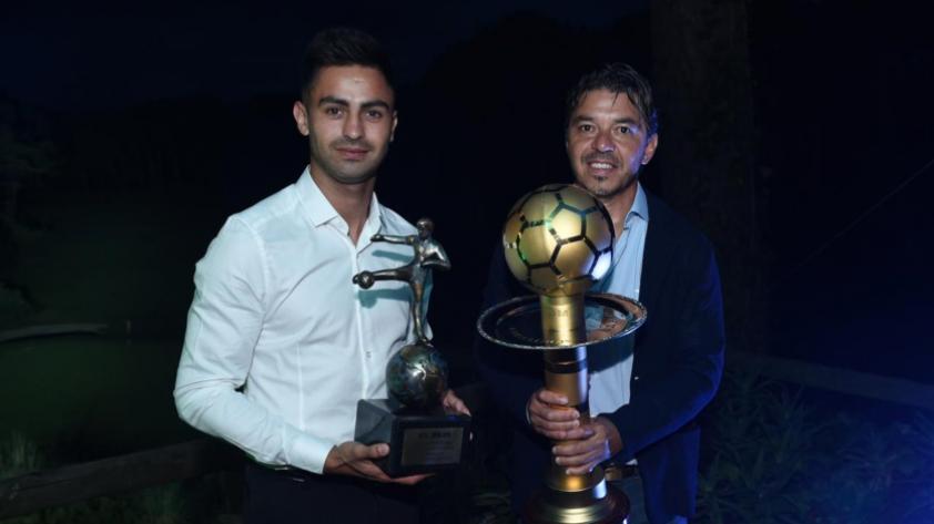 Marcelo Gallardo recibió el premio al mejor entrenador del continente y dio un emotivo discurso (VIDEO)