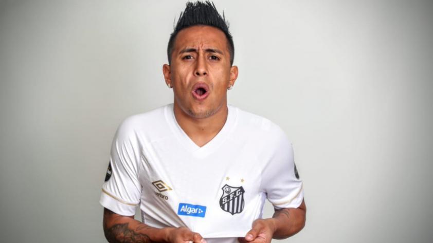 ¡OFICIAL! Santos anunció el fichaje de Christian Cueva