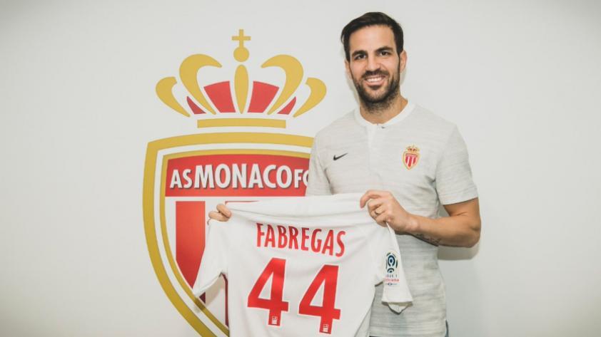 ¡Cesc Fábregas es el flamante refuerzo del Mónaco!